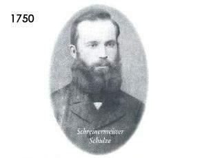 Schreinermeister Johann Henrich Schulze