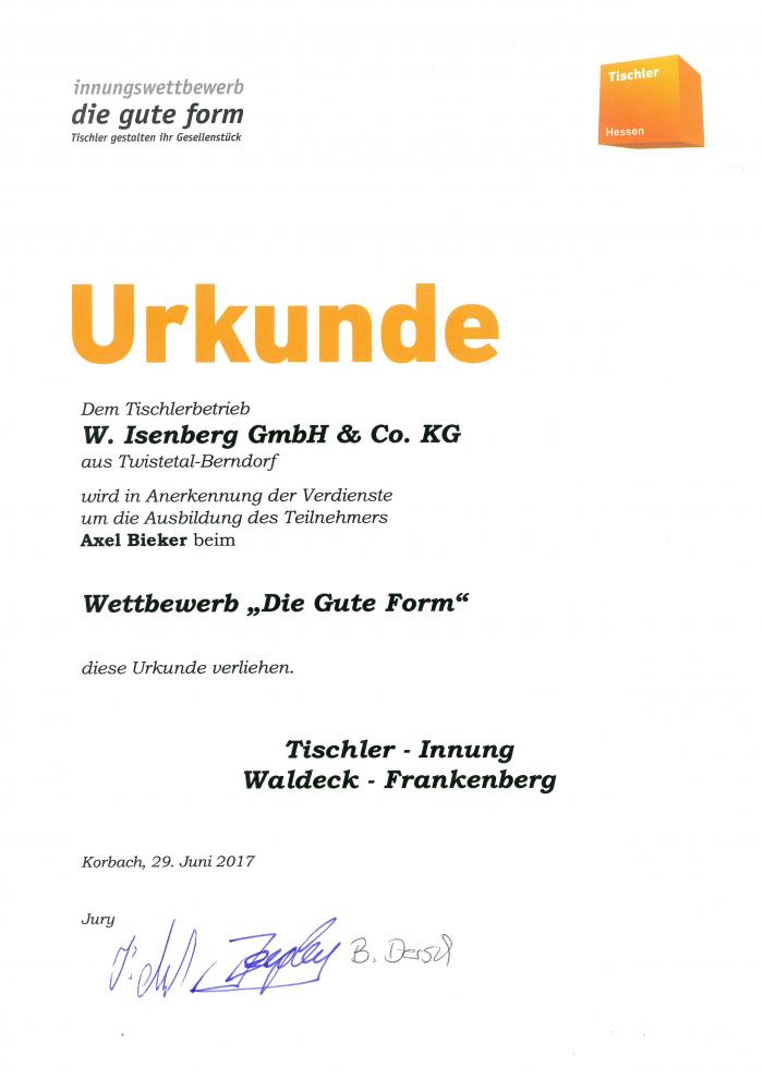 Wir Gratulieren Isenberg Display
