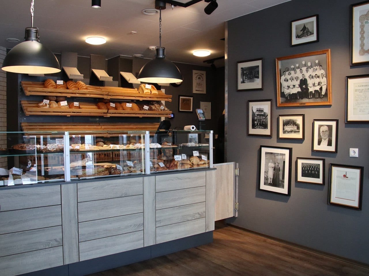 isenberg Bäckerei Island Verkaufsraum