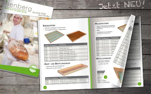 isenberg Bäckereigeräte Katalog