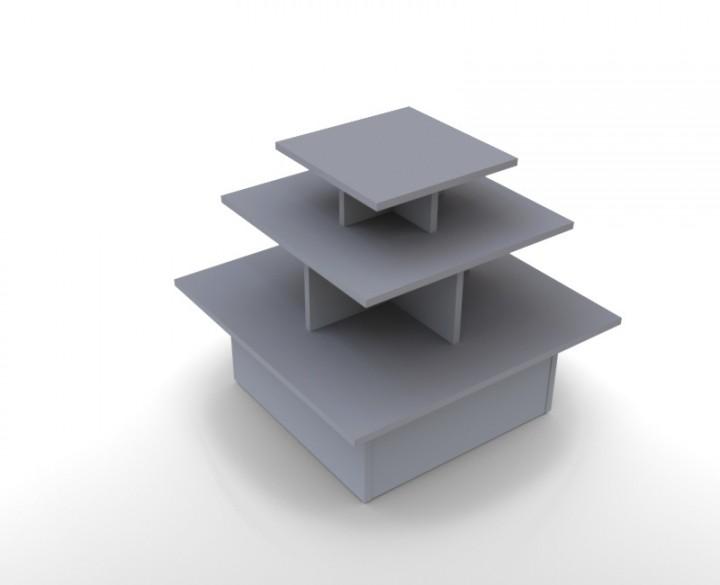 Präsentationspyramide, Textilpyramide