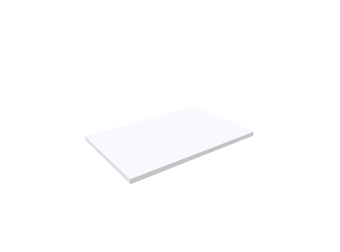 Regalboden Weiß