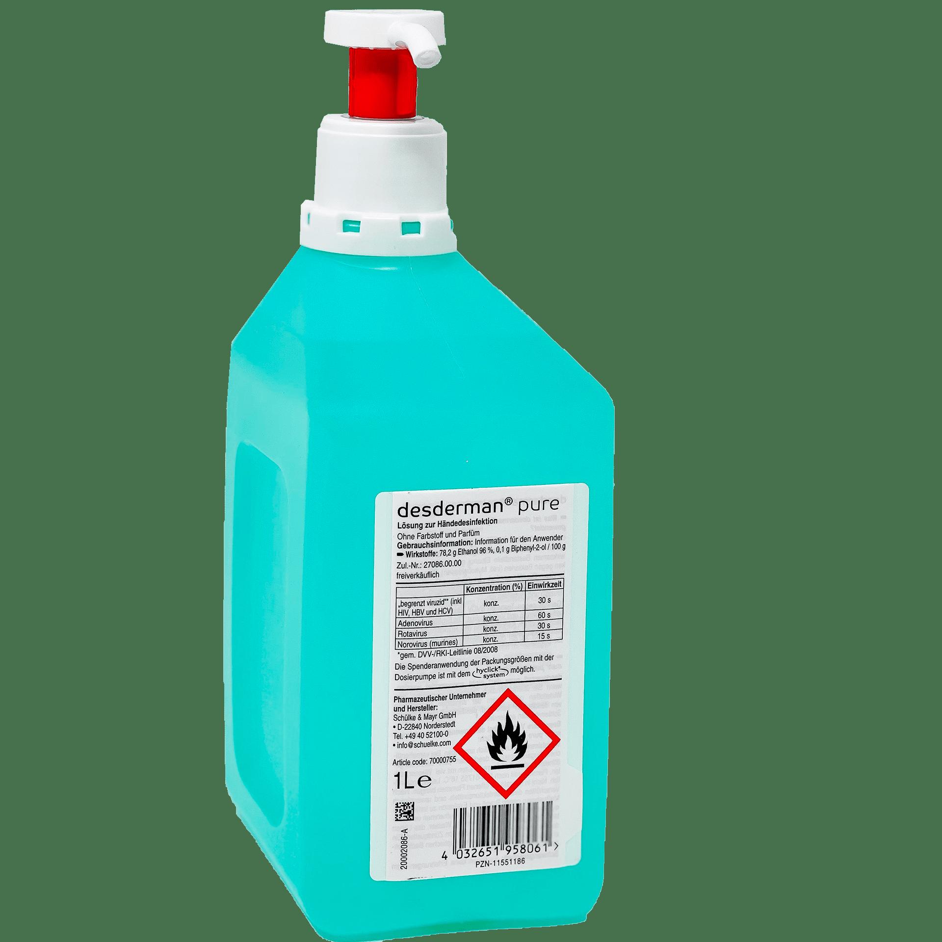Desinfektionsmittelsäule Mit Spender