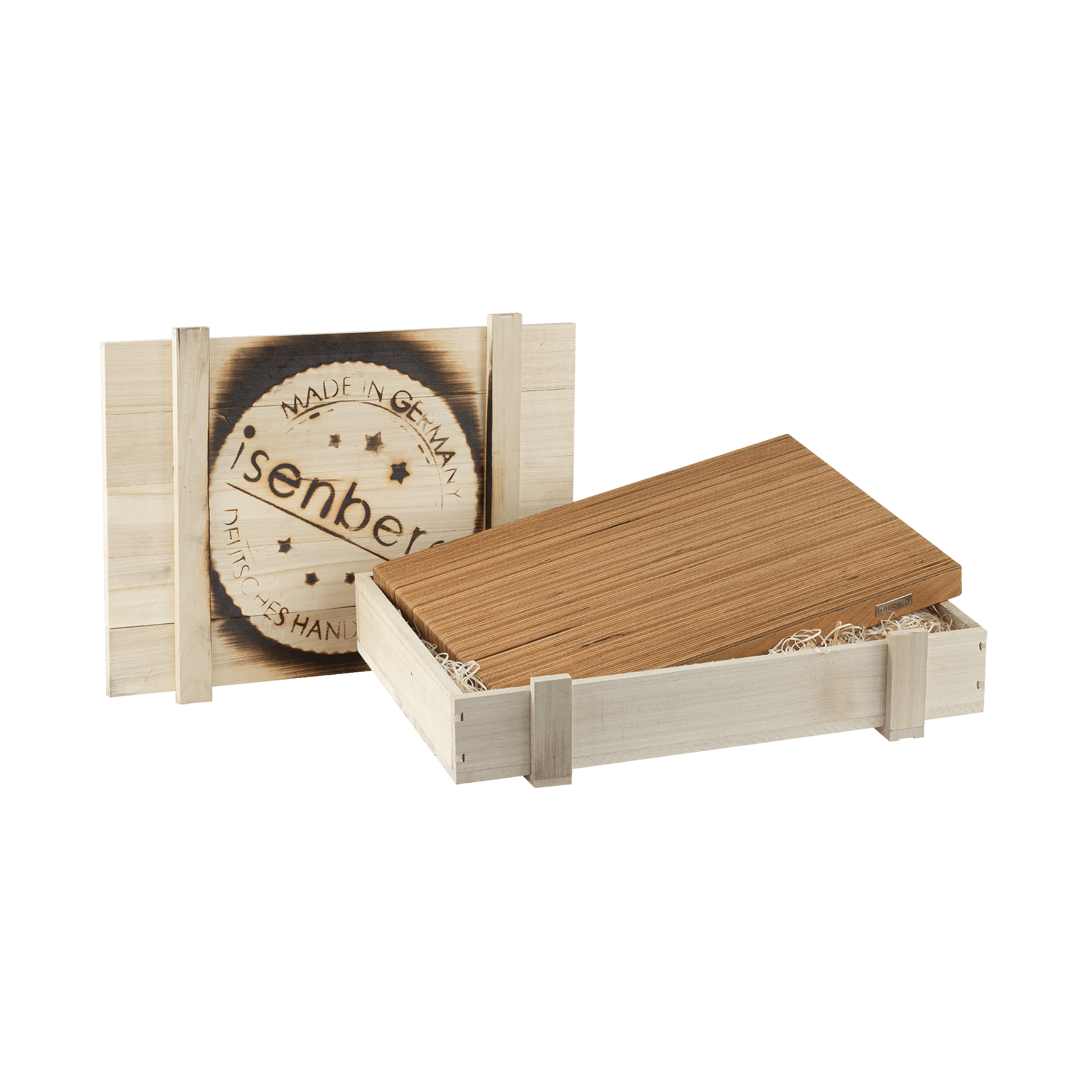 Isenberg Profi Schneidebrett Typ 1 Baubuche in Kiste