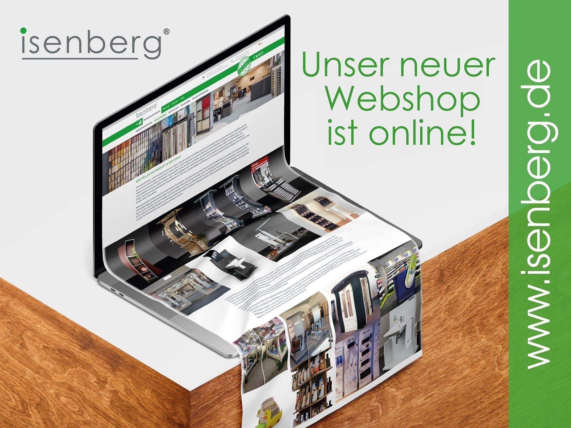 isenberg Webshop, Onlineshop Grafik