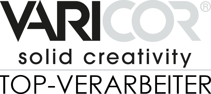 VARICOR Logo Schwarz Grau Top Verarbeiter isenberg